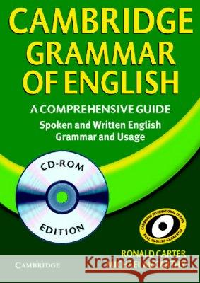 Cambridge Grammar of English Network CD-ROM: A Comprehensive Guide Ronald Carter Michael Mccarthy 9780521588454