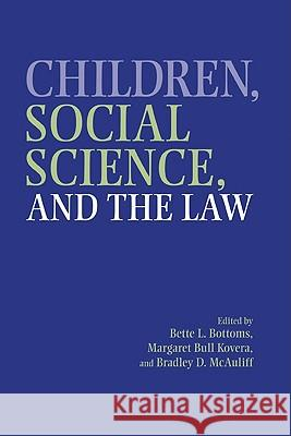 Children, Social Science, and the Law  9780521662987