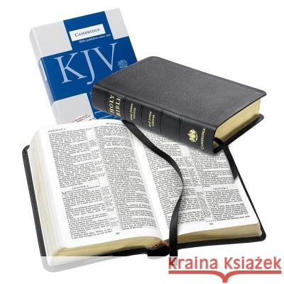 KJV Personal Concord Reference  Bible, Black French Morocco Leather, Red-letter Text, KJ463:XR Baker Publishing Group 9780521702522