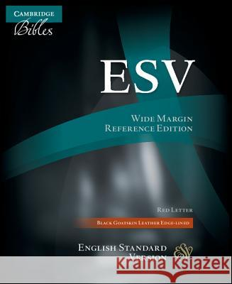 Wide Margin Reference Bible-ESV Publishing Group Baker 9780521708166