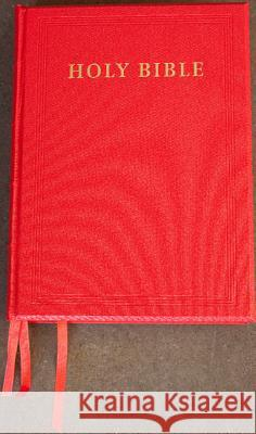 NRSV Lectern Bible, Red Imitation Leather over Boards, NR932:TB : Anglicized Edition  9780521714884