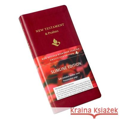NRSV New Testament and Psalms, Burgundy Imitation leather, NR012:NP Baker Publishing Group 9780521759786