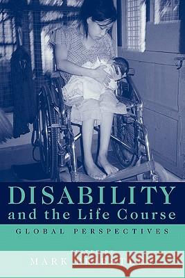 Disability and the Life Course: Global Perspectives Mark Priestley 9780521797344
