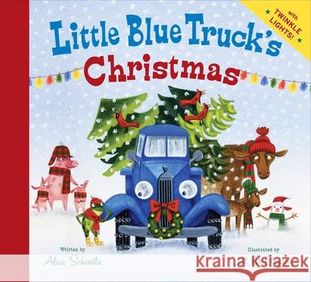 Little Blue Truck's Christmas Alice Schertle Jill McElmurry 9780544320413 Harcourt Brace and Company