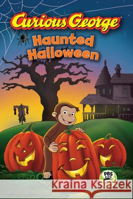 Curious George Haunted Halloween (Cgtv Reader) H. A. Rey 9780544320796