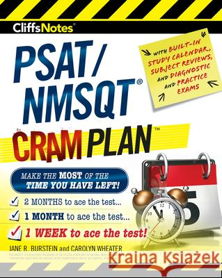 Cliffsnotes Psat/NMSQT Cram Plan Jane R. Burstein Carolyn Wheater 9780544974272