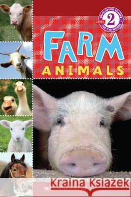 Scholastic Reader Level 2: Farm Animals Wade Cooper 9780545099936