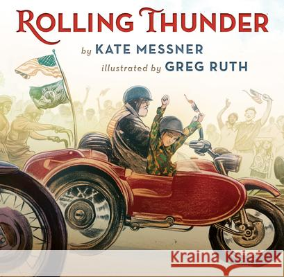 Rolling Thunder Kate Messner Greg Ruth 9780545470124