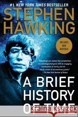 A Brief History of Time Stephen Hawking Stephen Hawking 9780553380163 Bantam Books
