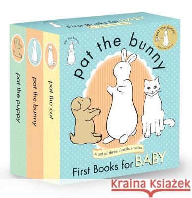 Pat the Bunny: First Books for Baby (Pat the Bunny) Dorothy Kunhardt 9780553508383 Golden Books
