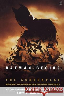 Batman Begins Christopher Nolan David S. Goyer 9780571229949