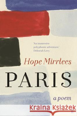 Paris Hope Mirrlees 9780571359936