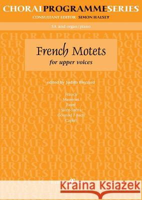 French Motets Judith Blezzard 9780571518050