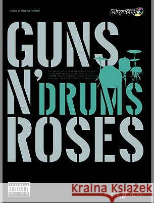 Guns N' Roses Authentic Drums Playalong  9780571527519