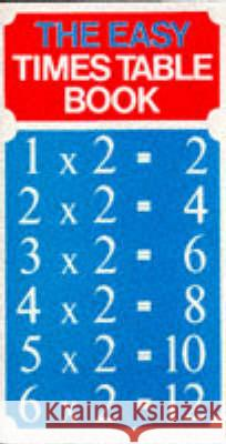 Easy Times Table Regina Kruger 9780572009908