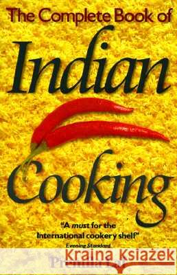 Complete Book of Indian Cooking Premila Lal Premila Lai 9780572022648
