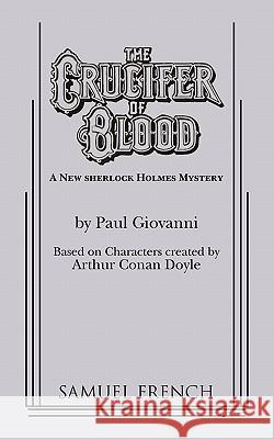 The Crucifer of Blood Paul Giovanni Arthur Conan Doyle 9780573607578