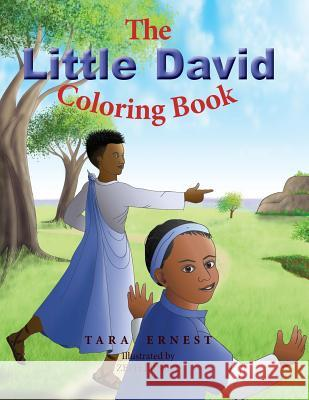 The Little David Coloring Book Tara Ernest Zeph Ernest 9780578481845