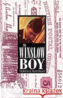 Winslow Boy Terence Rattigan 9780582060197