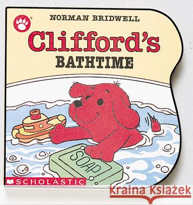Clifford's Bathtime Norman Bridwell 9780590447355