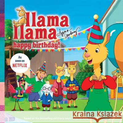 Llama Llama Happy Birthday! Anna Dewdney 9780593092903