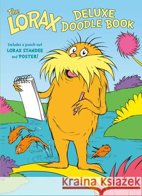 The Lorax Deluxe Doodle Book Random House 9780593307328