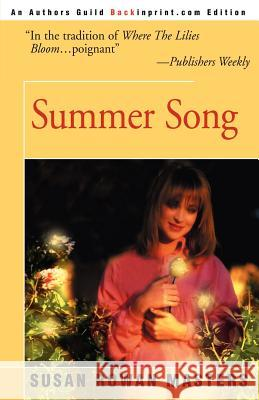 Summer Song Susan Rowan Masters 9780595144075
