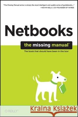 Netbooks: The Missing Manual Jude Biersdorfer 9780596802233