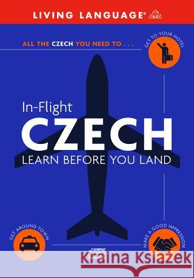 In-Flight Czech: Learn Before You Land - audiobook Living Language                          Suzanne E. McGrew 9780609810651