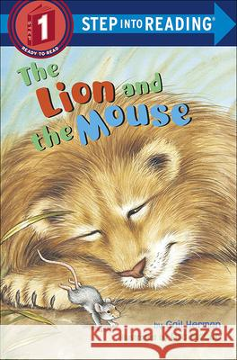 The Lion and the Mouse Gail Herman Lisa McCue 9780613117852