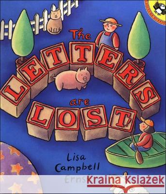 The Letters Are Lost! Lisa Campbell Ernst 9780613149204
