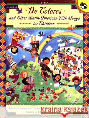de Colores: And Other Latin-American Folk Songs For Children Jose-Luis Orozco Elisa Kleven 9780613195102