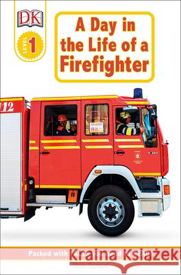 Day in the Life of a Firefighter Linda Hayward 9780613350983