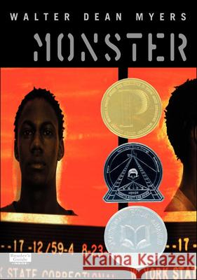 Monster Walter Dean Myers Christopher A. Myers 9780613359856 Tandem Library
