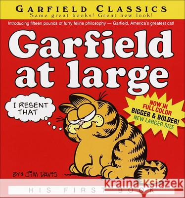 Garfield at Large Jim Davis 9780613810562