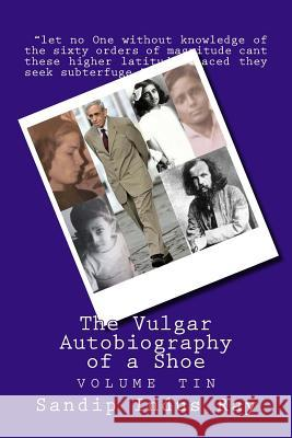 The Vulgar Autobiography of a Shoe: Volume Tin MR Sandip Indus Ray 9780615682631