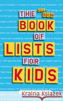 The All-New Book of Lists for Kids Sandra Choron Harry Choron 9780618191352