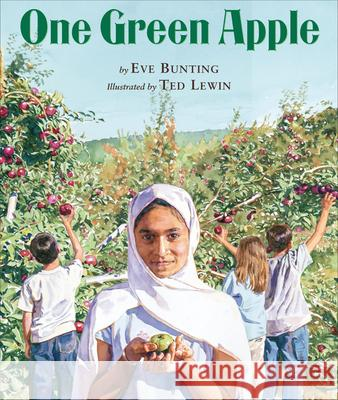 One Green Apple Eve Bunting Ted Lewin 9780618434770 Clarion Books