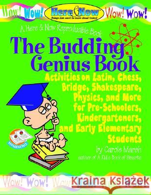 The Budding Genius Book of Reproducible Activities Carole Marsh 9780635002655 Gallopade International