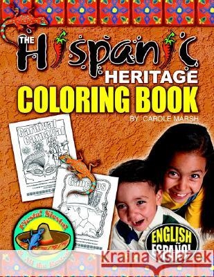 Hispanic Heritage Coloring Book Carole Marsh 9780635021175