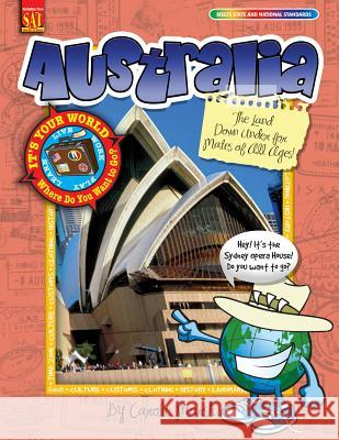Australia: The Land Down Under for Mates of All Ages! Carole Marsh 9780635068231