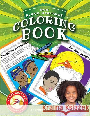 Our Black Heritage Coloring Book Carole Marsh 9780635117953