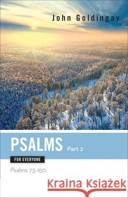 Psalms for Everyone, Part 2 John Goldingay 9780664233846