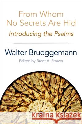 From Whom No Secrets Are Hid: Introducing the Psalms Walter Brueggeman Brent A. Strawn 9780664259716
