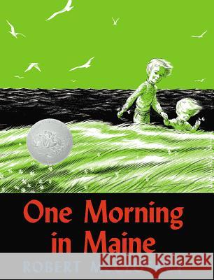 One Morning in Maine Robert McCloskey 9780670526277