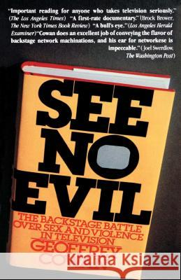See No Evil Geoffrey Cowan Unknown Author 9780671254117