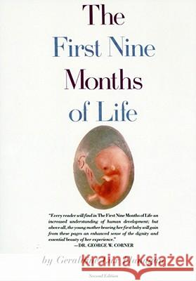 First Nine Months of Life Geraldine L. Flanagan 9780671459758