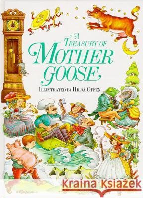 A Treasury of Mother Goose Hilda Offen 9780671501181