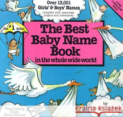 The Best Baby Name Book: In the Whole Wide World Bruce Lansky 9780671544638