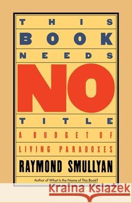 first order logic smullyan raymond r
